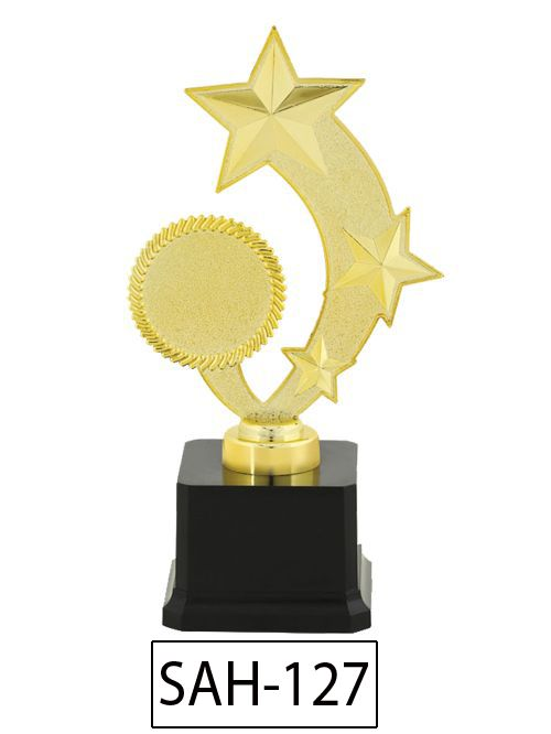 star shape trophy