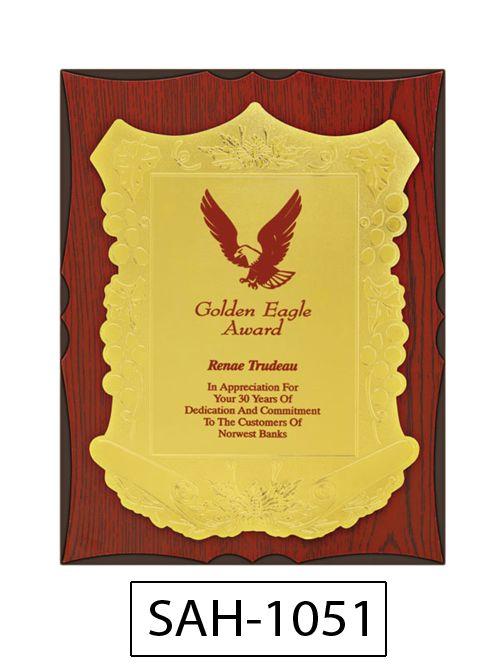 wooden award